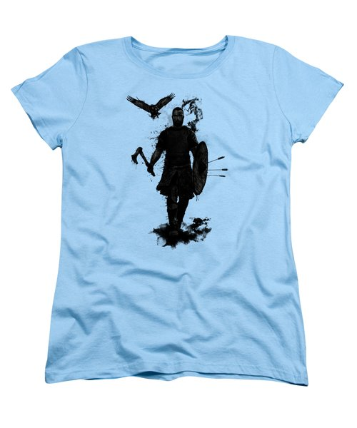 To Valhalla Women's T-Shirt (Standard Cut) by Nicklas Gustafsson