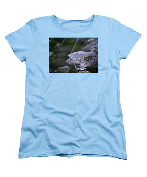 Toading It Up Women's T-Shirt (Standard Cut) by Jason Moynihan