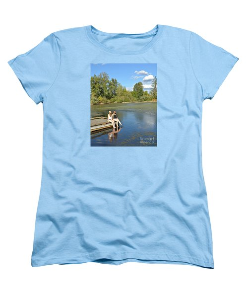 Toes In The Water Women's T-Shirt (Standard Cut)