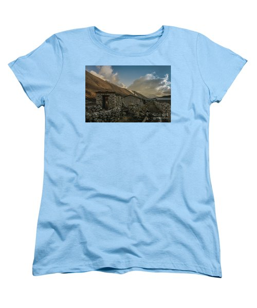 Women's T-Shirt (Standard Cut) featuring the photograph Toilet by Mike Reid