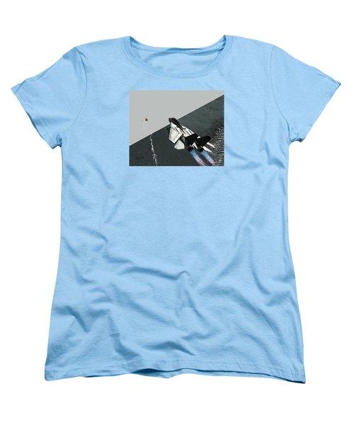 Tomcat Kill Women's T-Shirt (Standard Cut) by Walter Chamberlain