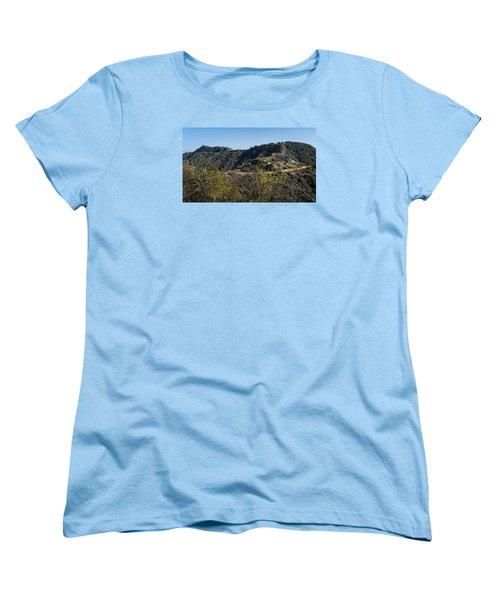 Topanga Canyon Trail Women's T-Shirt (Standard Cut)