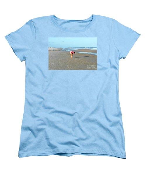 Topsail Island Beach Women's T-Shirt (Standard Cut) by Eva Kaufman