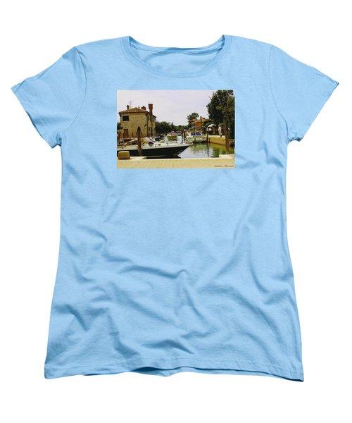 Torcello Island Women's T-Shirt (Standard Cut) by Cendrine Marrouat