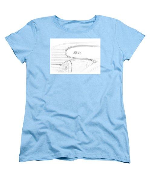 Torpedo Ford Women's T-Shirt (Standard Cut) by Jeffrey Jensen