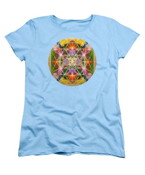 Torusphere Synthesis Bright Beginning Soulin I Women's T-Shirt (Standard Cut) by Christopher Pringer