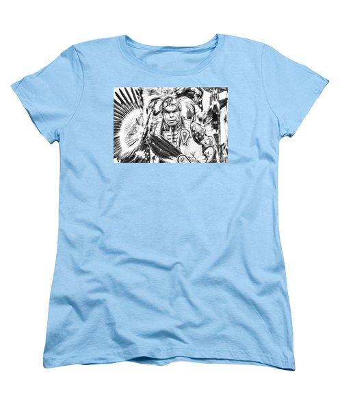 Traditional Dancer  Women's T-Shirt (Standard Cut) by Clarice Lakota