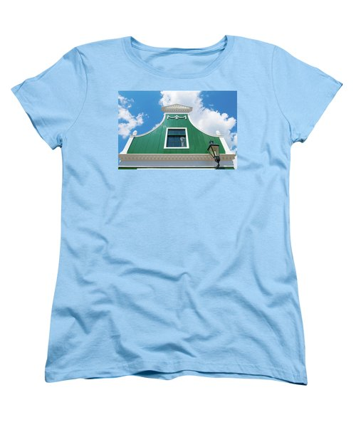 Traditional Dutch House Women's T-Shirt (Standard Cut) by Hans Engbers