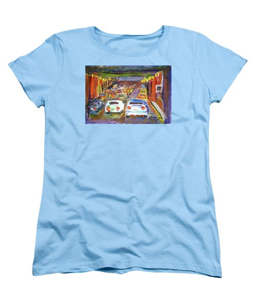 Traffic Jam Women's T-Shirt (Standard Cut) by Janet Garcia