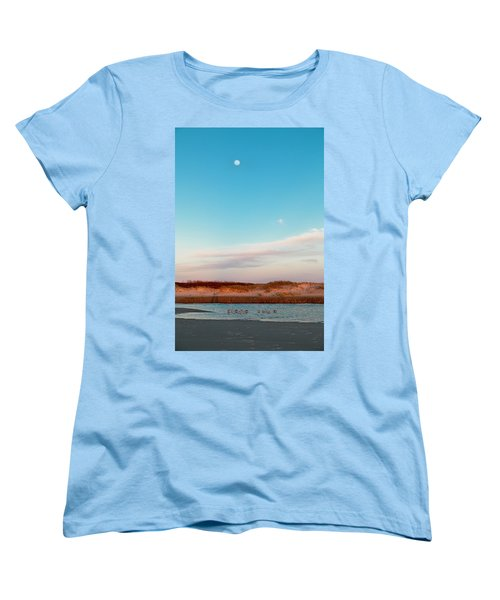 Tranquil Heaven Women's T-Shirt (Standard Cut) by Betsy Knapp