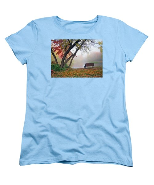 Tranquil View Women's T-Shirt (Standard Cut) by Betsy Zimmerli