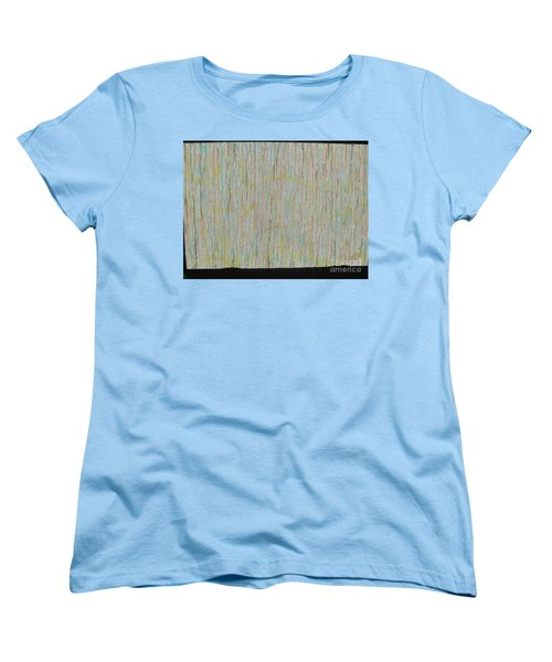 Women's T-Shirt (Standard Cut) featuring the painting Tranquility by Jacqueline Athmann