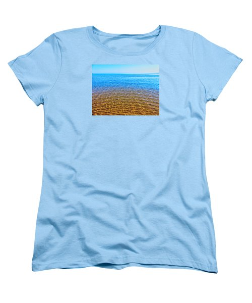 Women's T-Shirt (Standard Cut) featuring the photograph Tranquility by Kathleen Sartoris