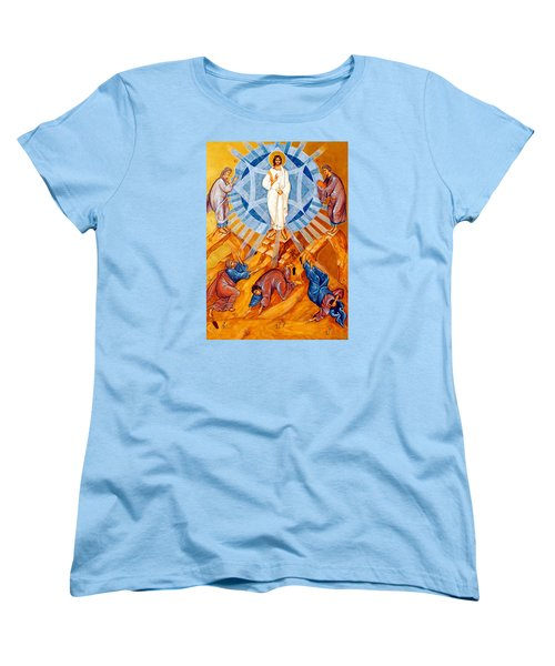 Transfiguration Of Christ Women's T-Shirt (Standard Cut) by Munir Alawi