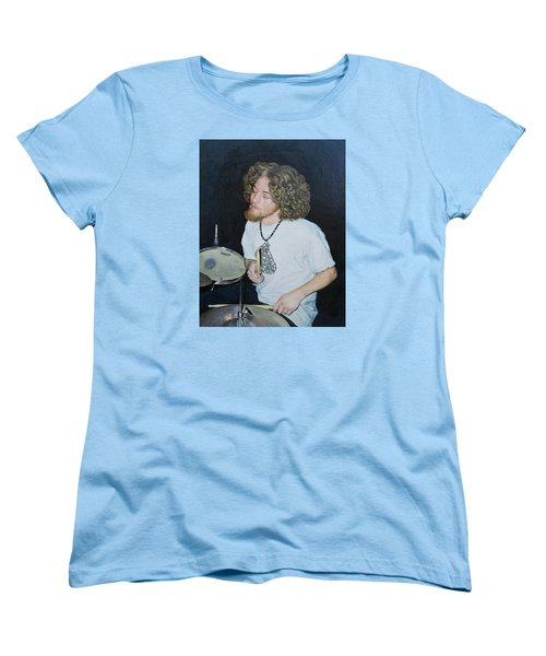 Transported By Music Women's T-Shirt (Standard Cut) by Michele Myers