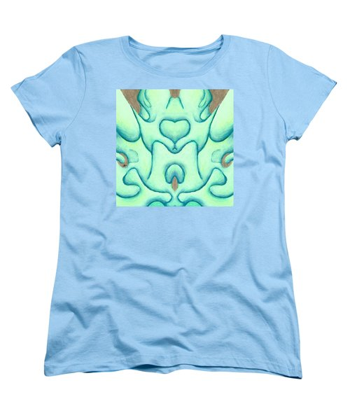Travels Of The Mind Women's T-Shirt (Standard Cut) by Versel Reid