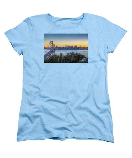Treasure Island Sunset Women's T-Shirt (Standard Cut) by JR Photography