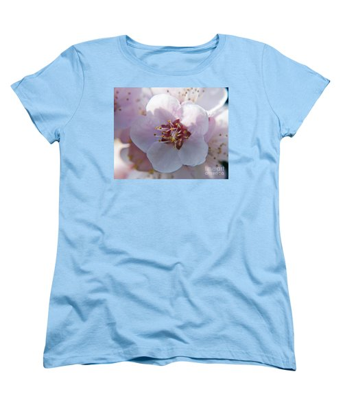 Women's T-Shirt (Standard Cut) featuring the photograph Tree Blossoms by Elvira Ladocki