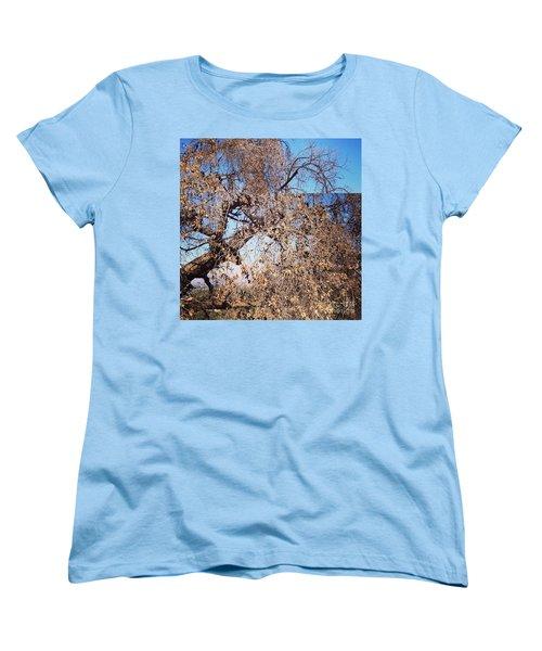 Tree Bow And Dance Women's T-Shirt (Standard Cut) by Nora Boghossian