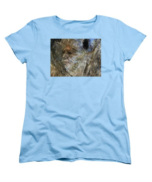 Women's T-Shirt (Standard Cut) featuring the photograph Tree Memories # 25 by Ed Hall