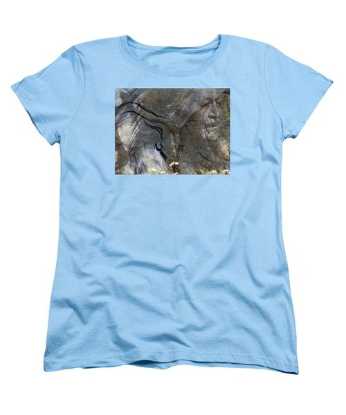 Women's T-Shirt (Standard Cut) featuring the photograph Tree Memories # 28 by Ed Hall