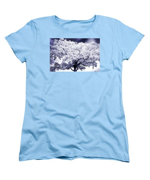 Women's T-Shirt (Standard Cut) featuring the photograph Tree by Paul W Faust - Impressions of Light