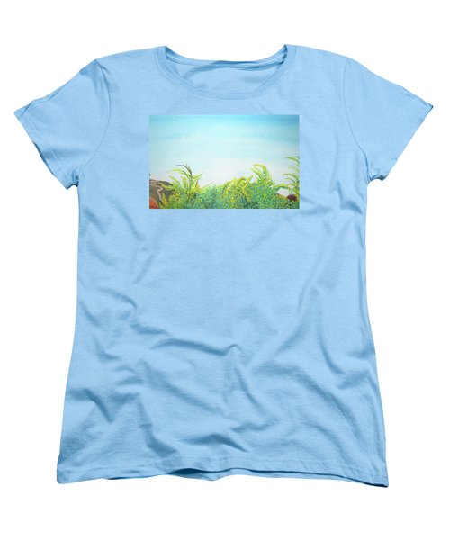 Tree Tops Women's T-Shirt (Standard Cut) by Mary Ellen Frazee