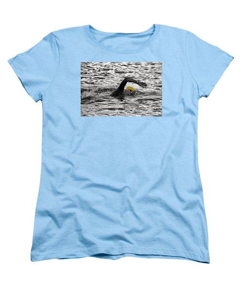 Triathlon Swimmer Women's T-Shirt (Standard Cut)