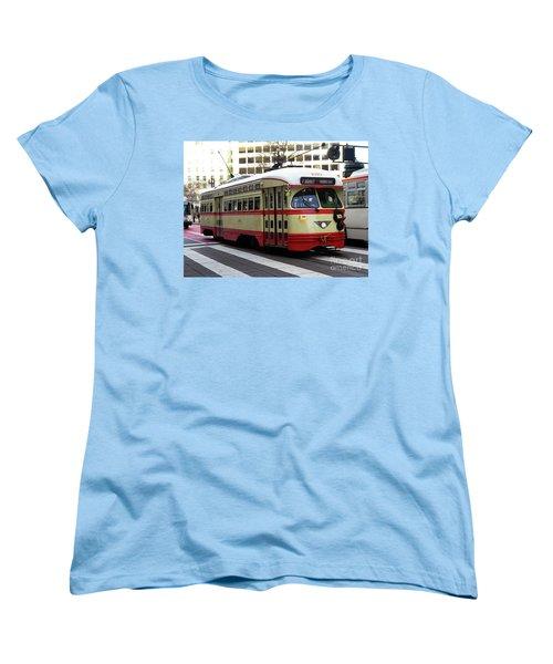 Trolley Number 1079 Women's T-Shirt (Standard Cut) by Steven Spak