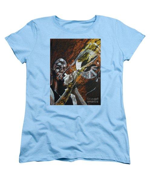 Trombone Shorty Women's T-Shirt (Standard Cut)