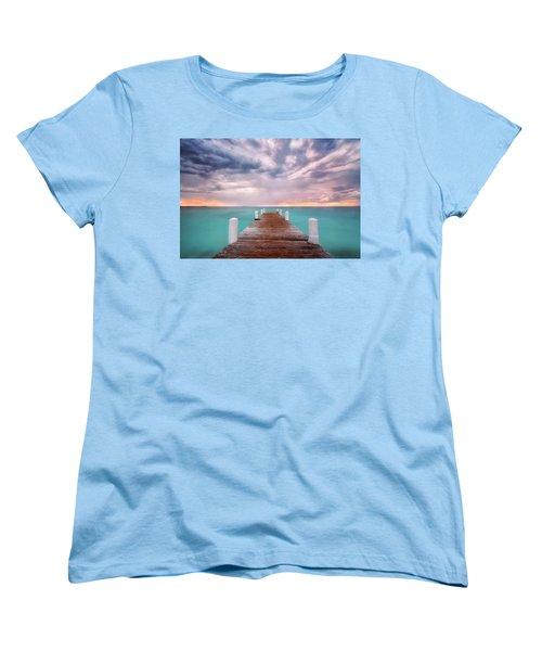 Tropical Drama Women's T-Shirt (Standard Cut) by Nicki Frates