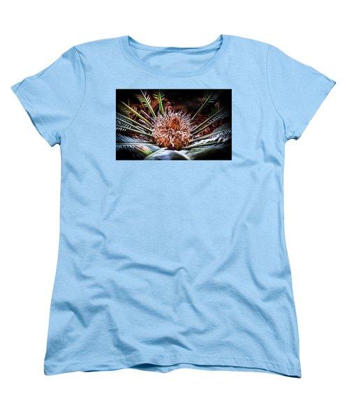 Women's T-Shirt (Standard Cut) featuring the photograph Tropical Moments by Karen Wiles