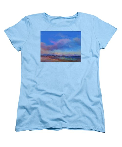 Tropical Seascape Women's T-Shirt (Standard Cut) by Anthony Fishburne