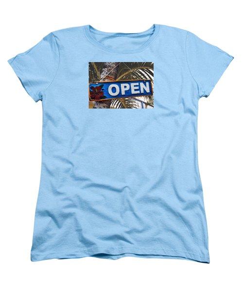 Tropical Welcome Women's T-Shirt (Standard Cut) by JAMART Photography