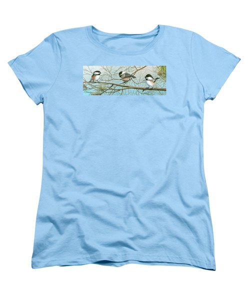 Troublesome Trio Women's T-Shirt (Standard Cut) by Mike Brown