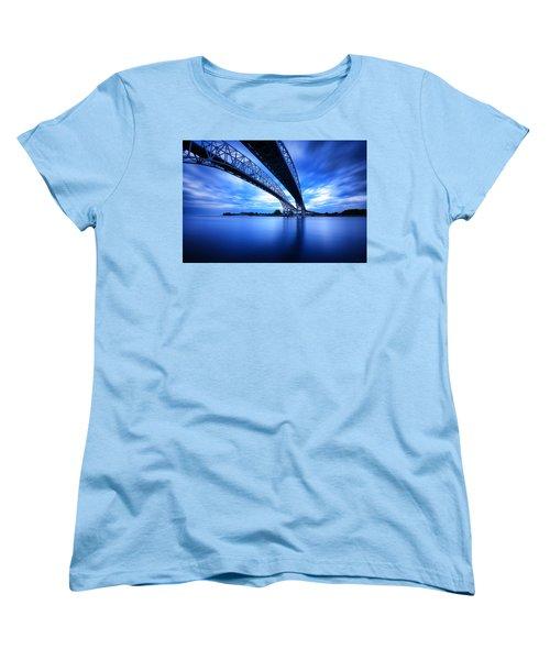 True Blue View Women's T-Shirt (Standard Cut) by Gordon Dean II