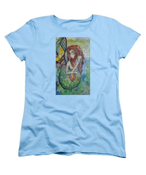 True Love The Sea Women's T-Shirt (Standard Cut) by Claudia Cole Meek