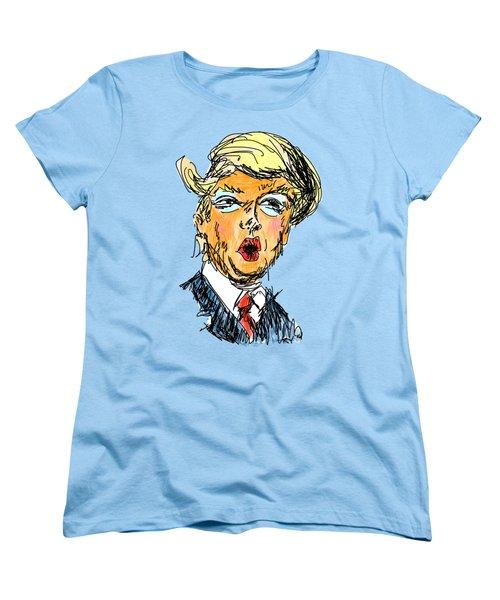 Trump Women's T-Shirt (Standard Cut) by Robert Yaeger