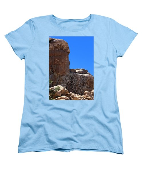 Women's T-Shirt (Standard Cut) featuring the photograph Trunk Made Of Stone by Viktor Savchenko