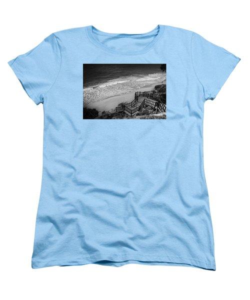 Tulum Beach Women's T-Shirt (Standard Cut) by Ana Mireles
