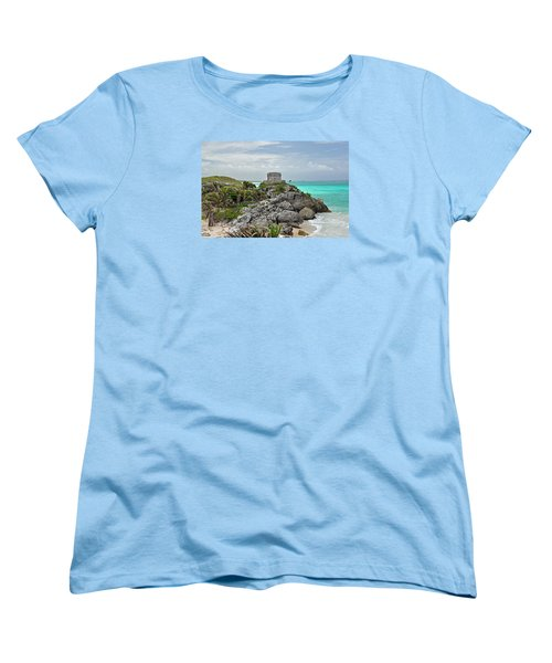 Tulum Mexico Women's T-Shirt (Standard Cut) by Glenn Gordon