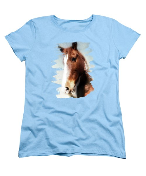 Tumbleweed Sideways Glance Women's T-Shirt (Standard Cut) by Anita Faye