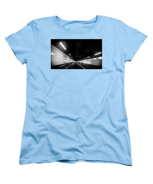 Tunnel Women's T-Shirt (Standard Cut) by Hyuntae Kim