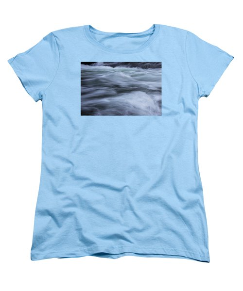 Women's T-Shirt (Standard Cut) featuring the photograph Turbulence 2 by Mike Eingle