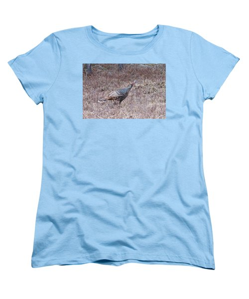 Women's T-Shirt (Standard Cut) featuring the photograph Turkey 1155 by Michael Peychich