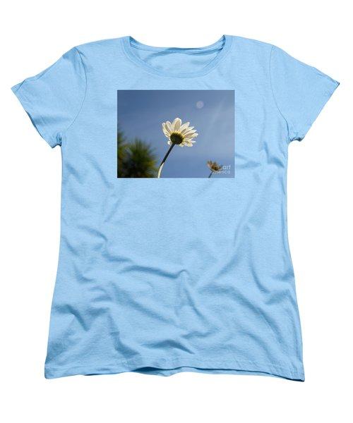 Turn To The Light Women's T-Shirt (Standard Cut) by Richard Brookes