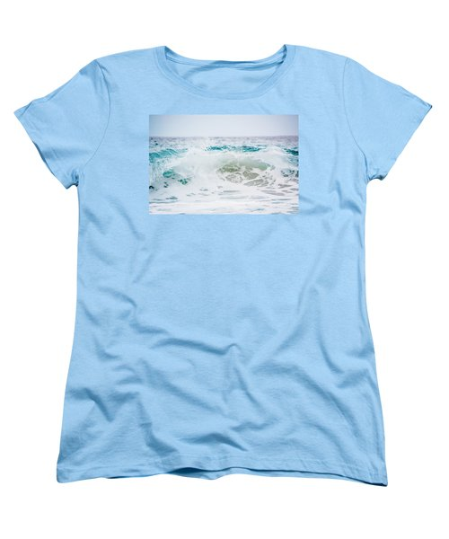 Turquoise Beauty Women's T-Shirt (Standard Cut) by Shelby Young
