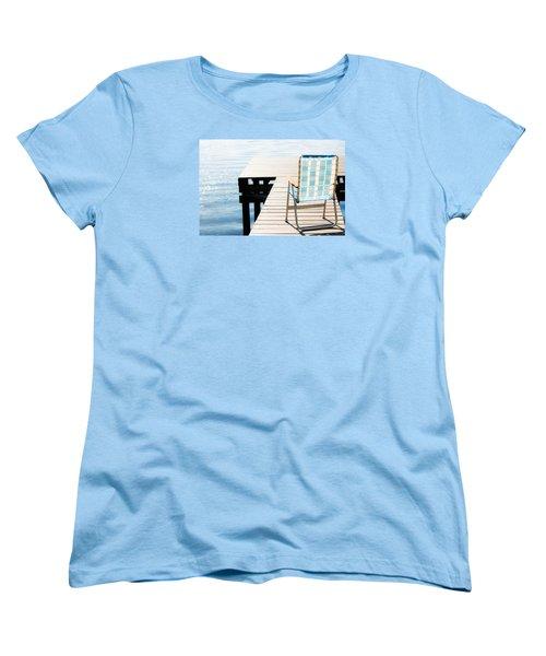 Turquoise Paradise Women's T-Shirt (Standard Cut) by Parker Cunningham