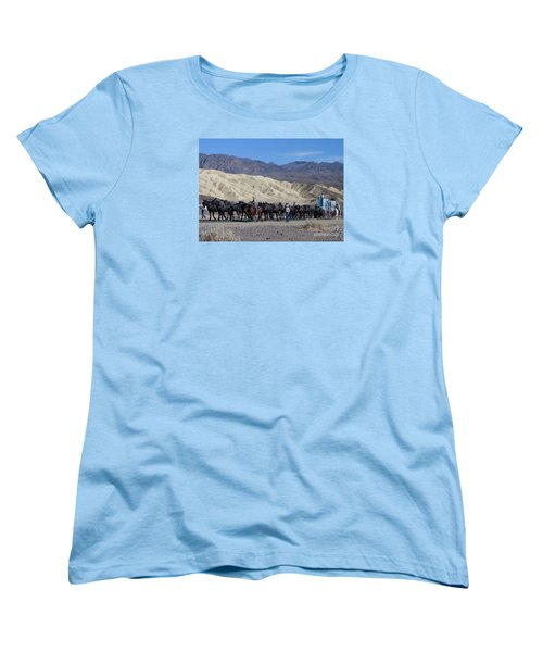 Women's T-Shirt (Standard Cut) featuring the photograph Twenty Mule Teams by Ivete Basso Photography