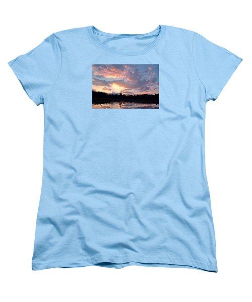 Twilight Glory Women's T-Shirt (Standard Cut) by Lynda Lehmann